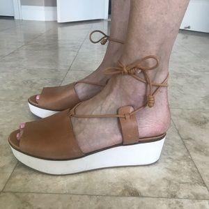 Lucky Brand platform sandals